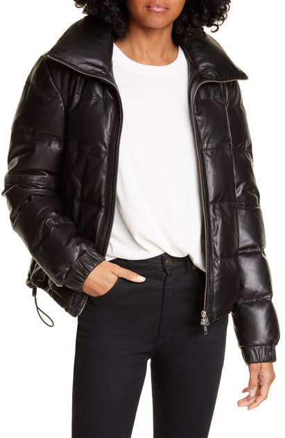 A.l.c Jackets DENVER LEATHER DOWN PUFFER JACKET