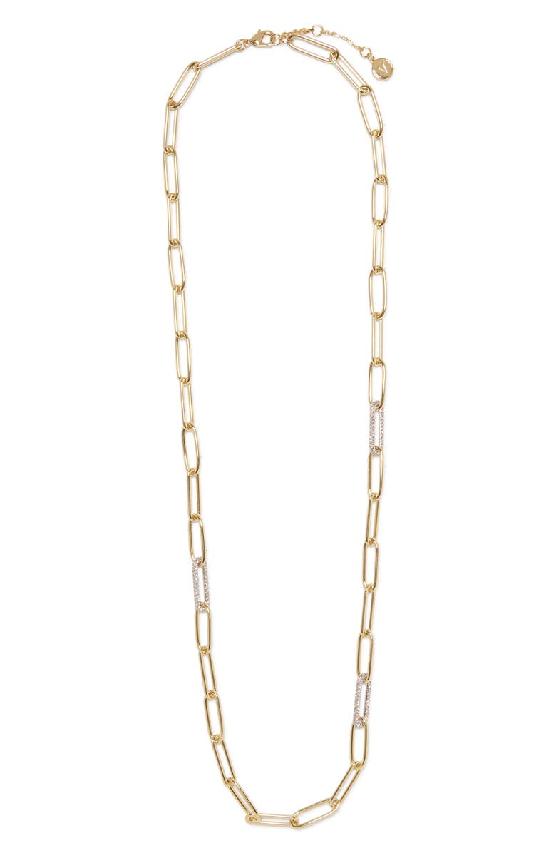 VINCE CAMUTO Long Link Necklace, Main, color, GOLD