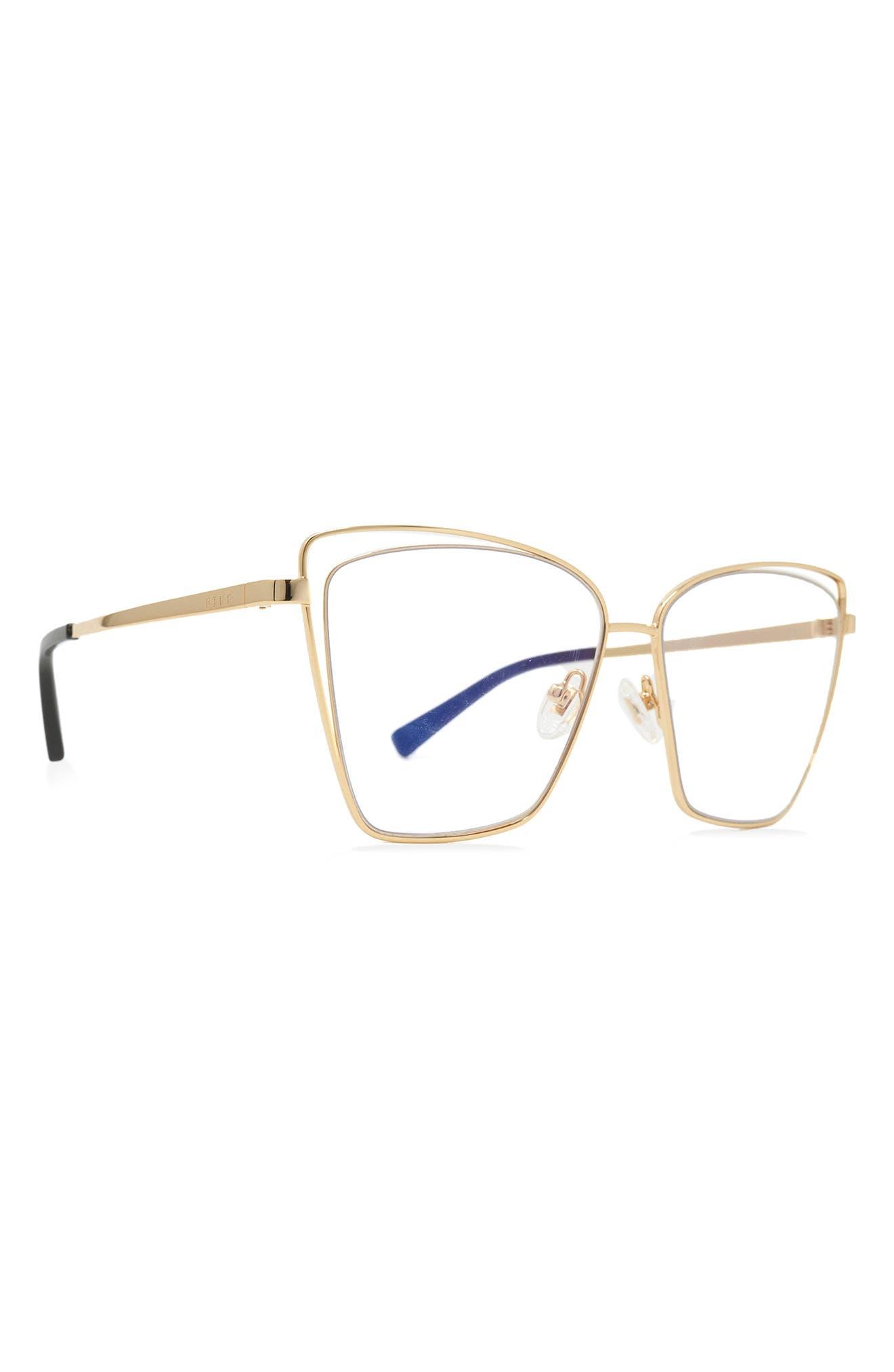 Becky Iii 57mm Cat Eye Optical Glasses