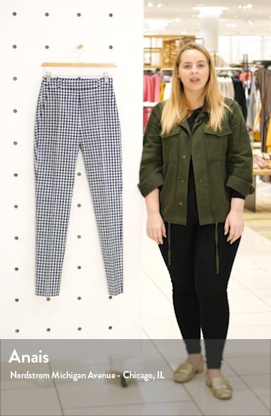Helisy Check Ankle Trousers, sales video thumbnail