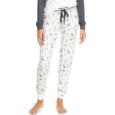 Pj Salvage Pawssible Pajama Pants, Ivory