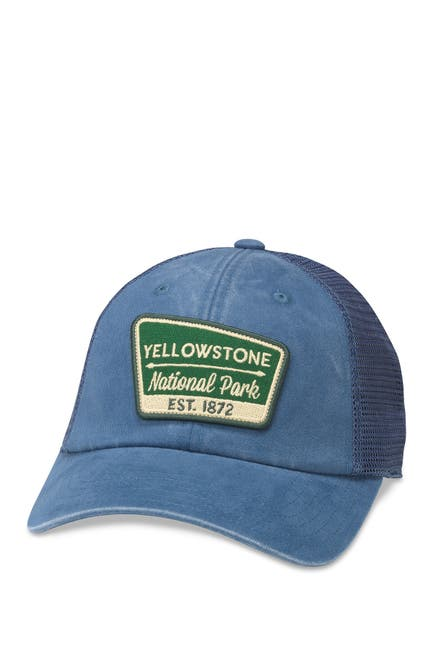 Image of American Needle Yellowstone National Park Raglan Baseball Cap