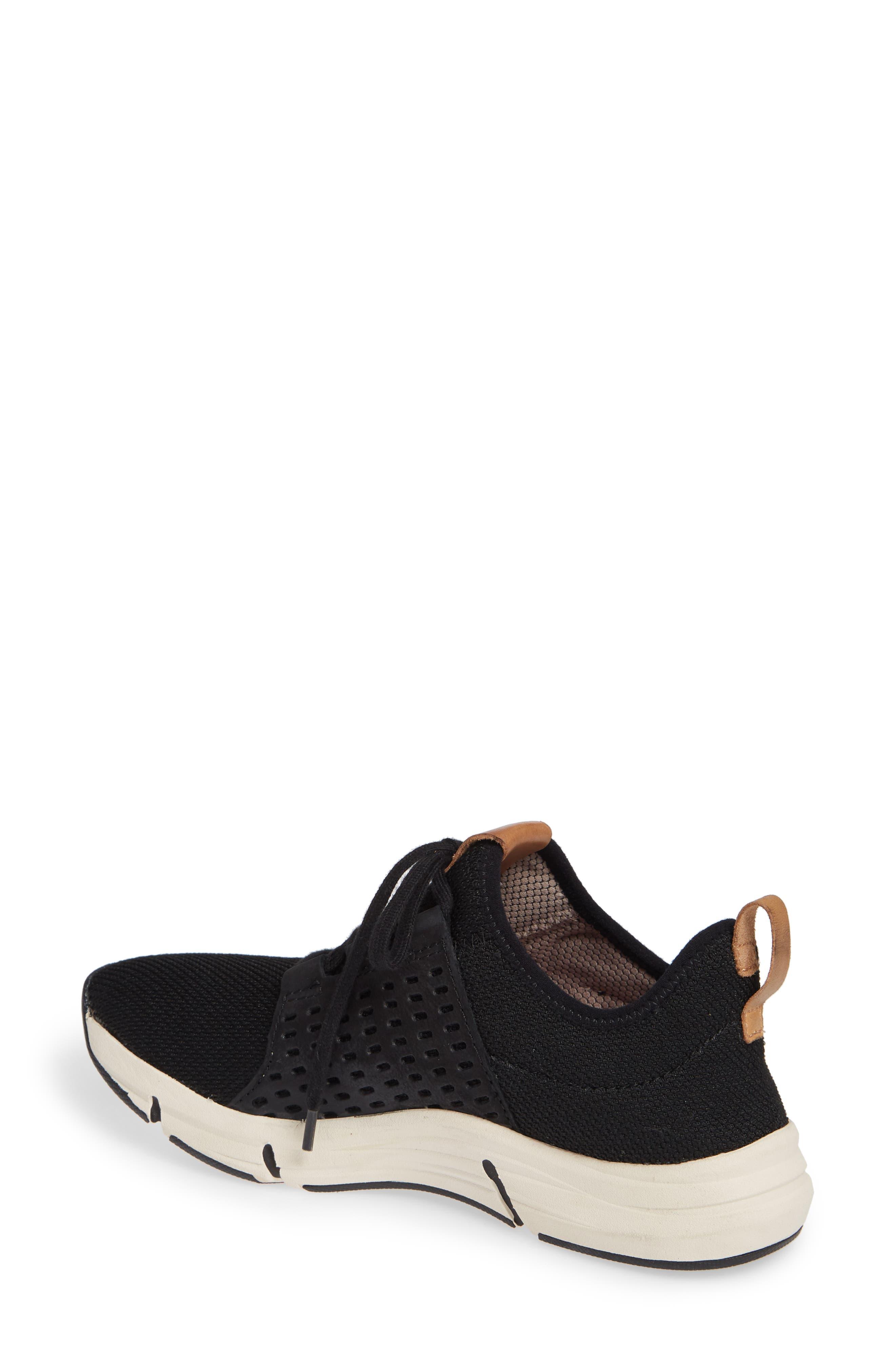 ,                             Orsola Sneaker,                             Alternate thumbnail 2, color,                             BLACK NUBUCK LEATHER