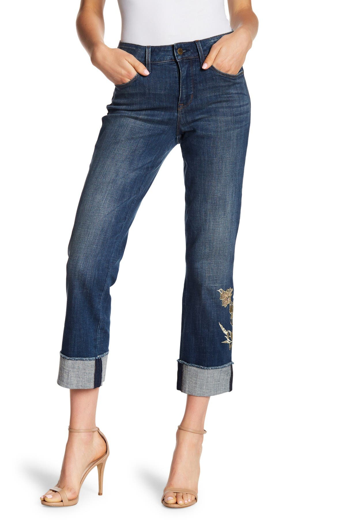 Image of NYDJ Marilyn Cuffed Ankle Jeans