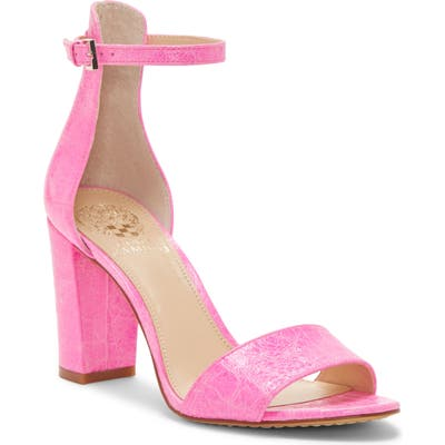 Vince Camuto Corlina Ankle Strap Sandal, Pink (Nordstrom Exclusive)