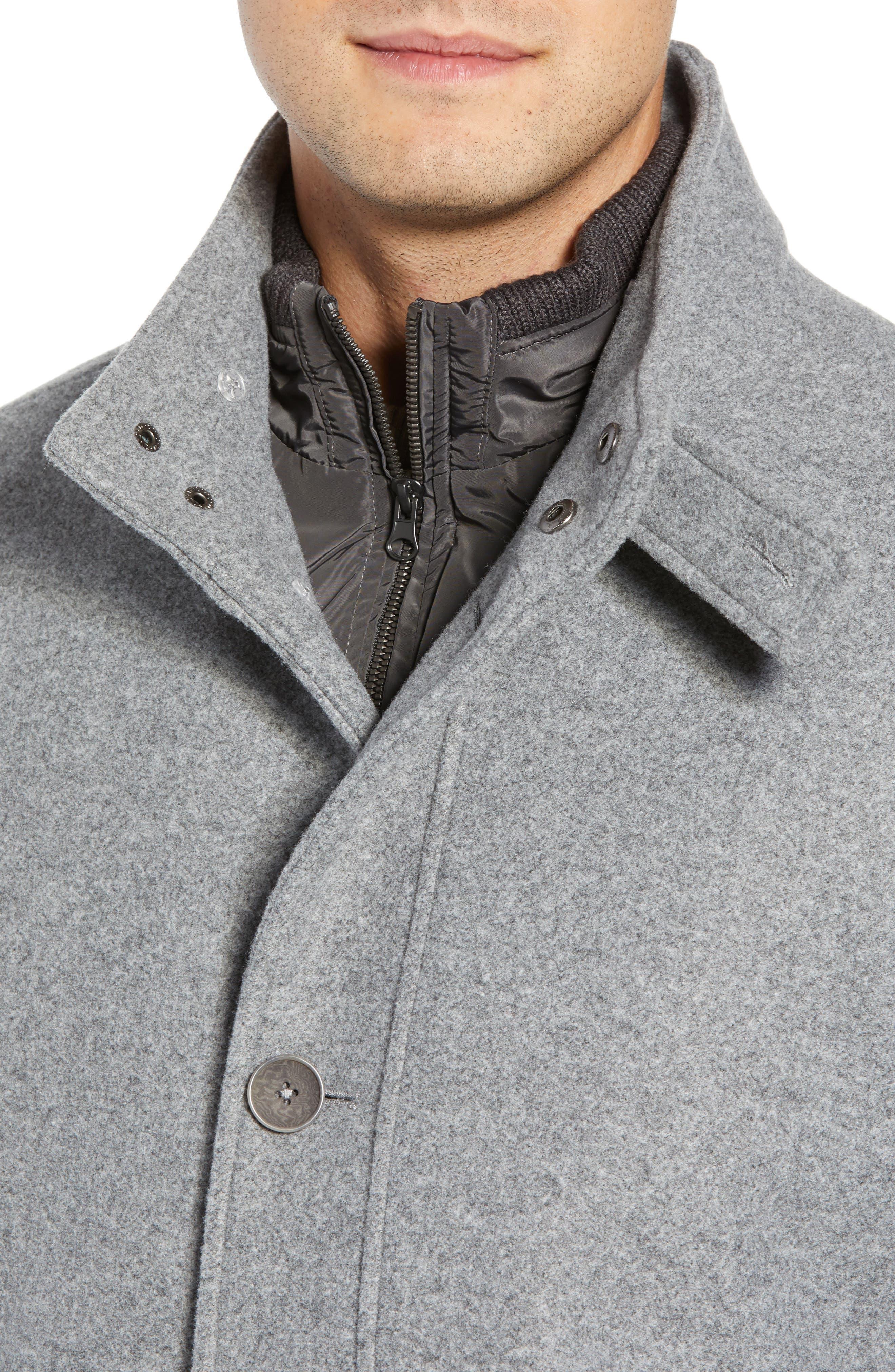 ,                             Westcott Wool Car Coat,                             Alternate thumbnail 5, color,                             LIGHT GREY