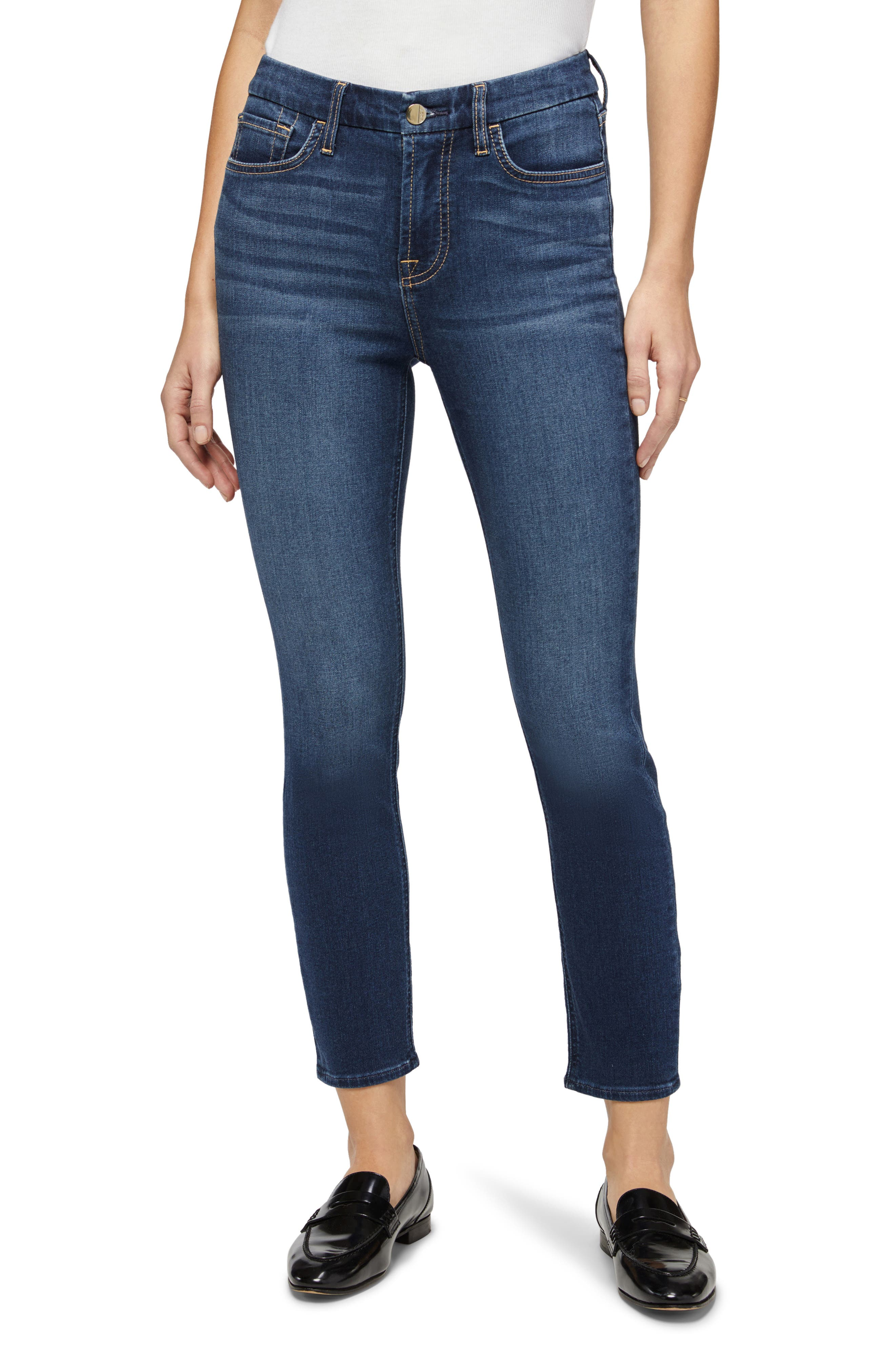By 7 For All Mankind Ankle Skinny Jeans