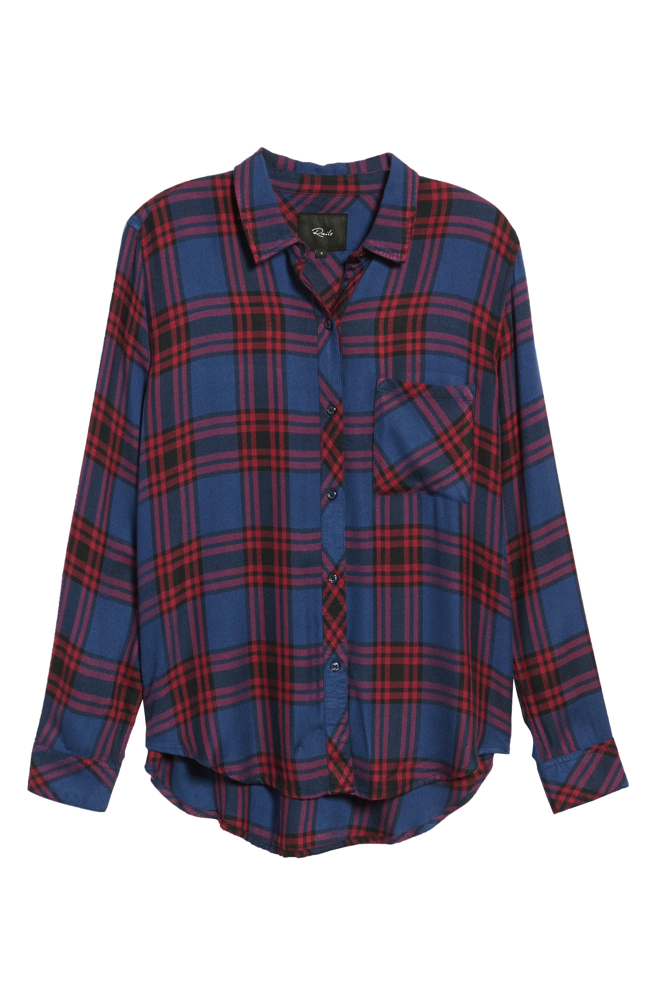 ,                             Hunter Plaid Shirt,                             Alternate thumbnail 384, color,                             450