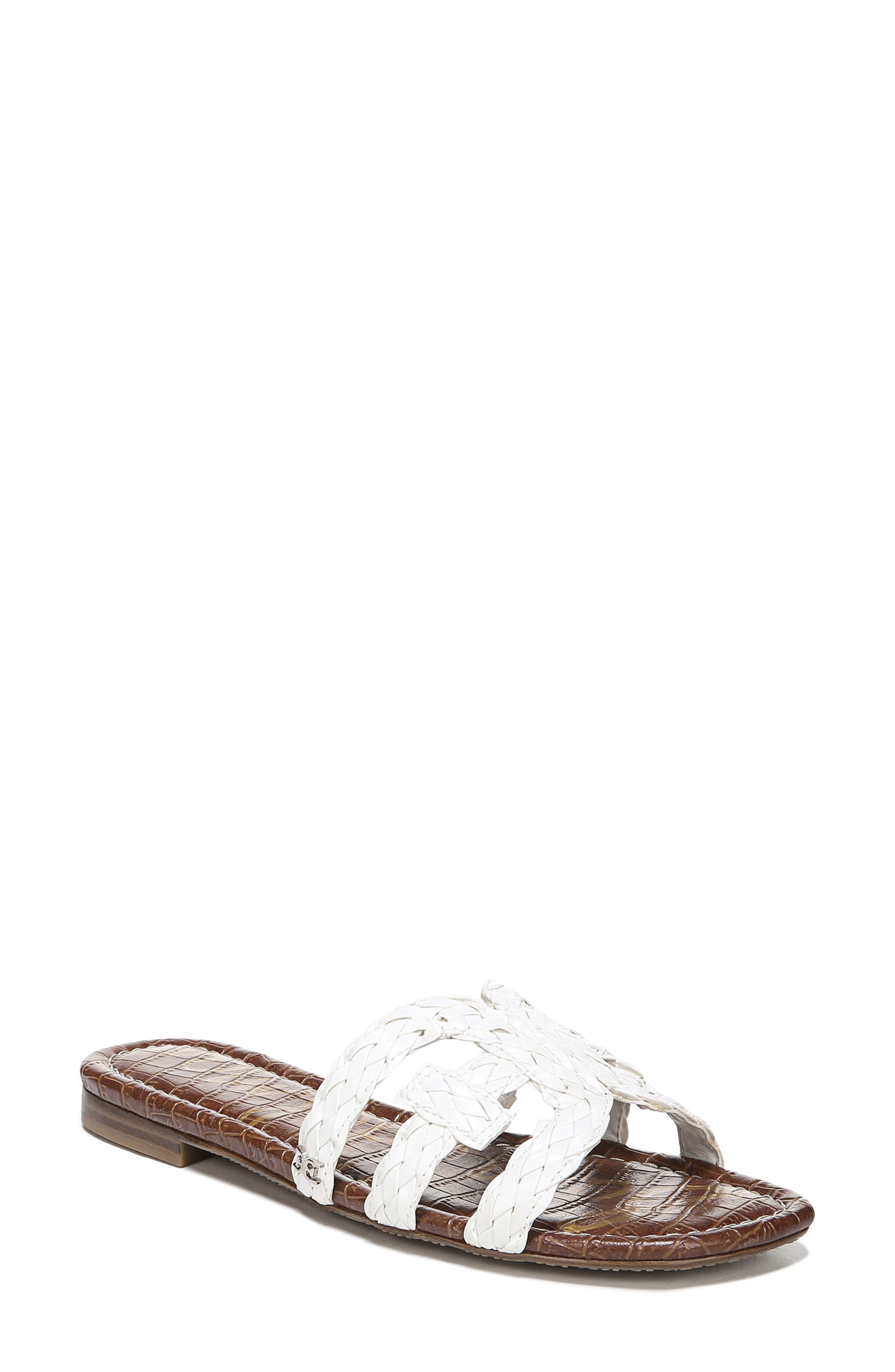 Sam Edelman Beckie Slide Sandal- White