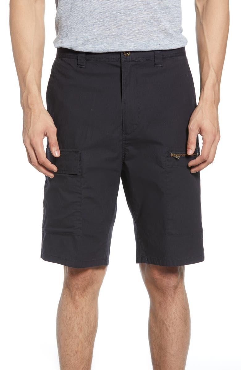 RODD & GUNN Ness Street Utility Shorts, Main, color, NAVY