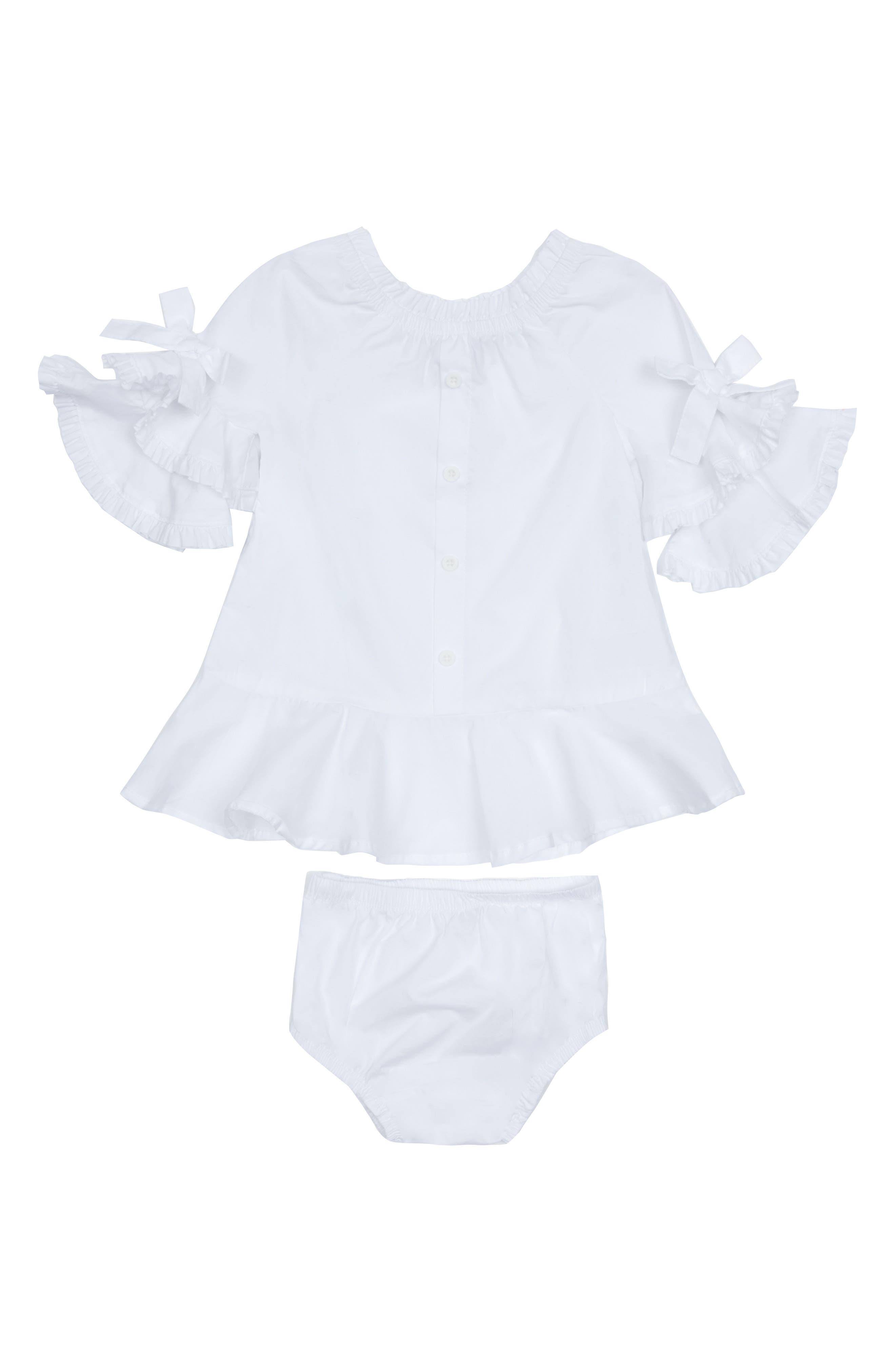 Infant Girls Habitual Idalia Puff Sleeve Dress