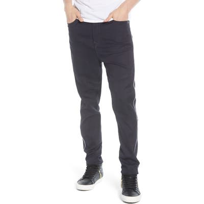 True Religion Brand Jeans Marco Reflective Relaxed Tapered Fit Jeans, Blue