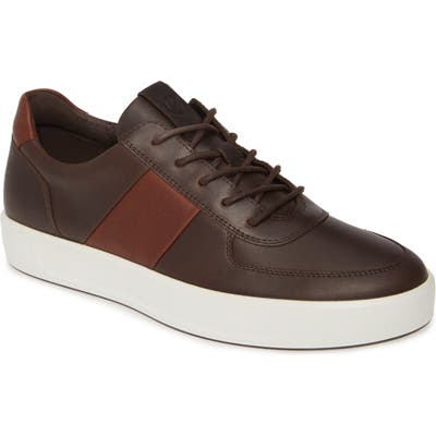 Ecco Soft 8 Sneaker - Brown
