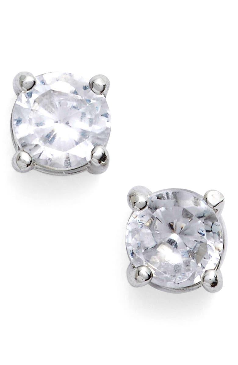 GIVENCHY Crystal Stud Earrings, Main, color, 040