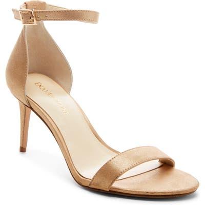 Enzo Angiolini Ahmber Ankle Strap Sandal- Beige