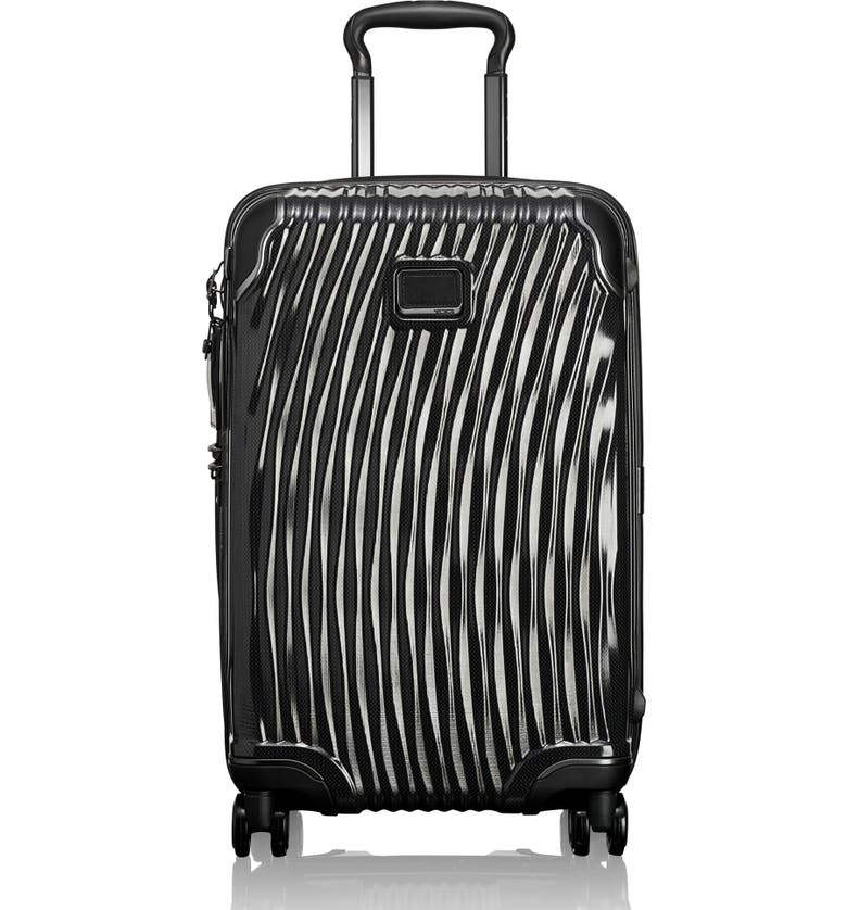 TUMI Latitude 22-Inch International Rolling Carry-On, Main, color, BLACK