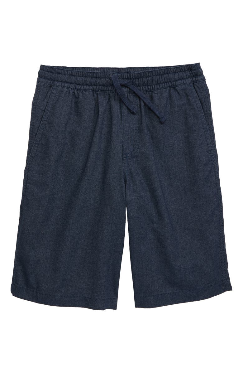 VANS Range Shorts, Main, color, DRESS BLUES HEATHER