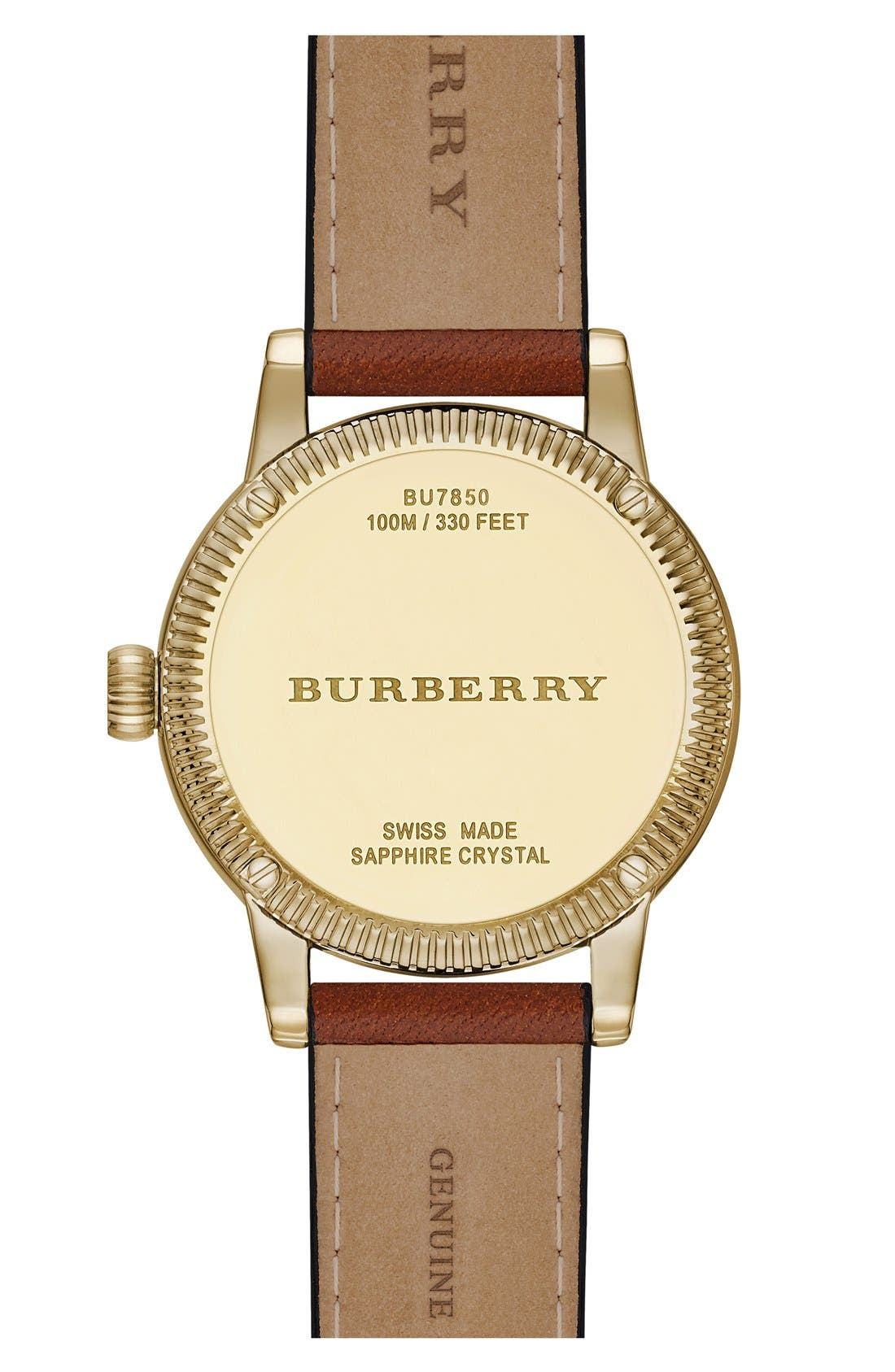,                             'Utilitarian' Round Leather Wrap Watch, 30mm,                             Alternate thumbnail 15, color,                             200