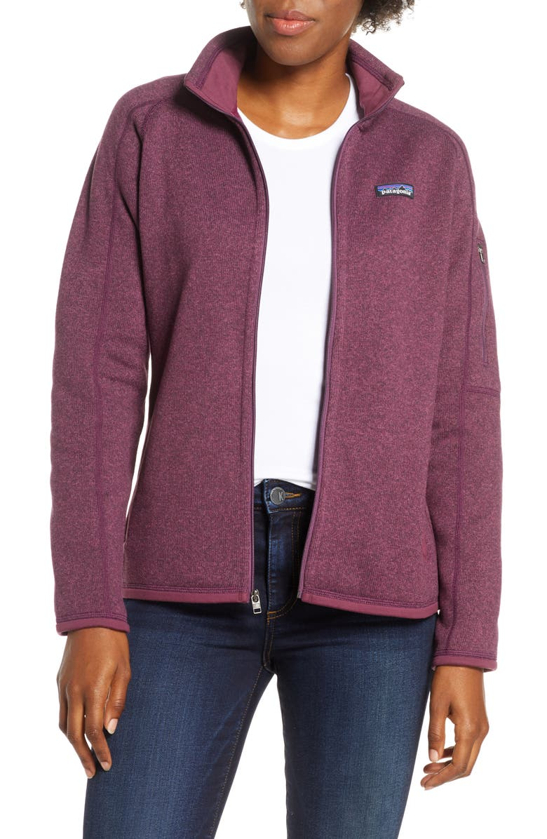 PATAGONIA Better Sweater<sup>®</sup> Jacket, Main, color, LIGHT BALSAMIC