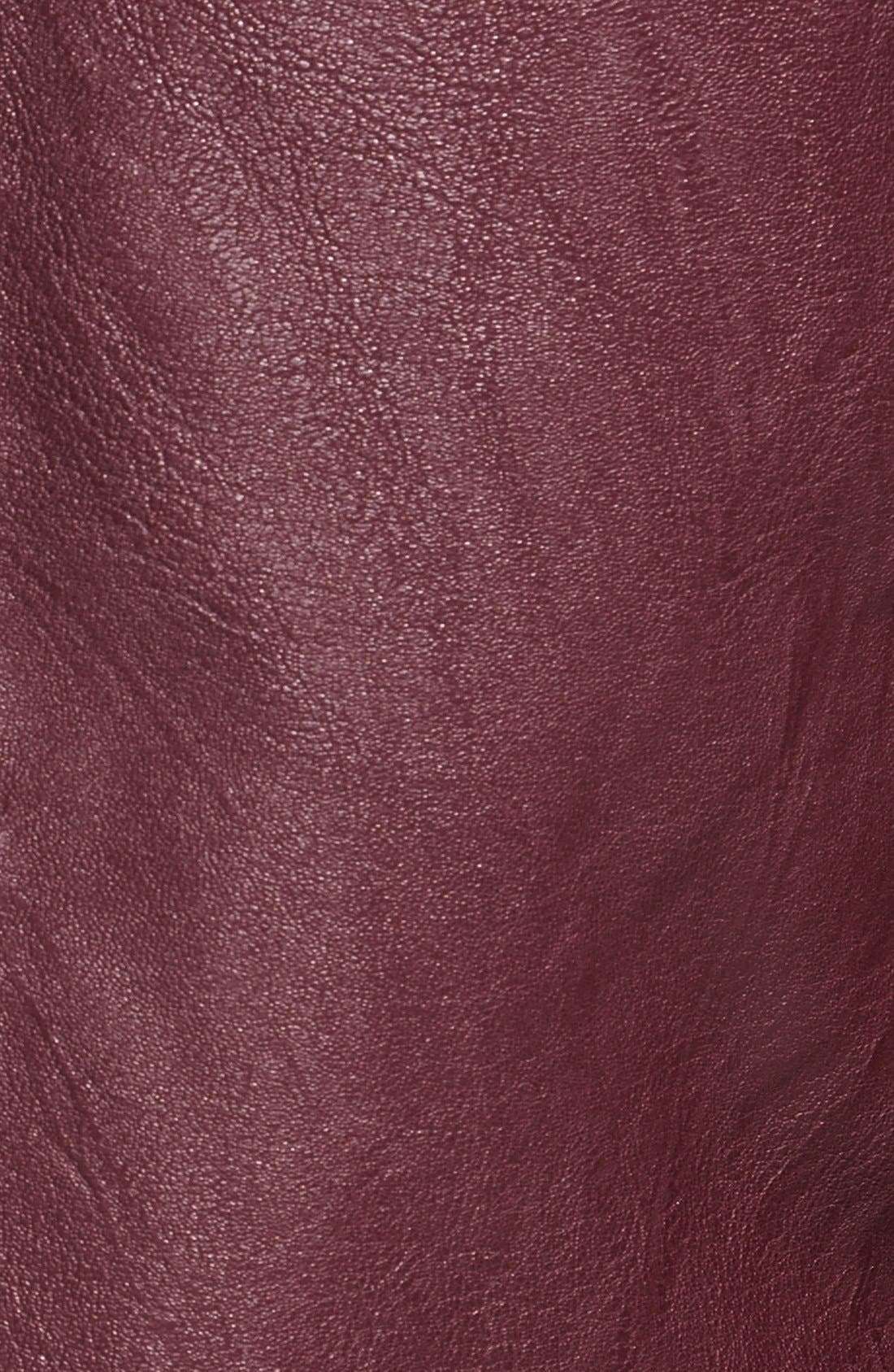 ,                             Faux Leather Moto Jacket,                             Alternate thumbnail 15, color,                             600