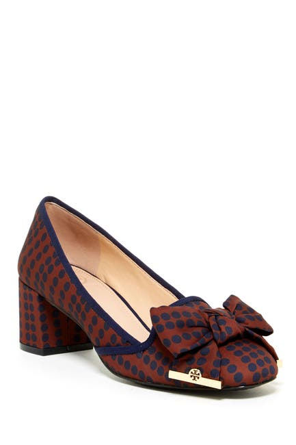 Image of Tory Burch Penny Printed Pump