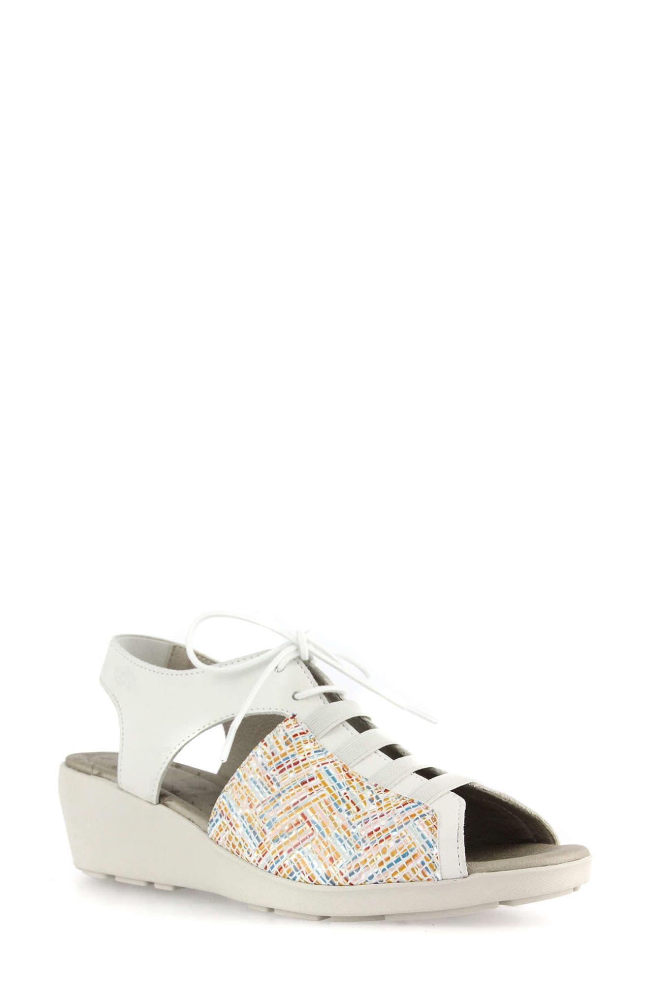 Hattie Lace-Up Sandal