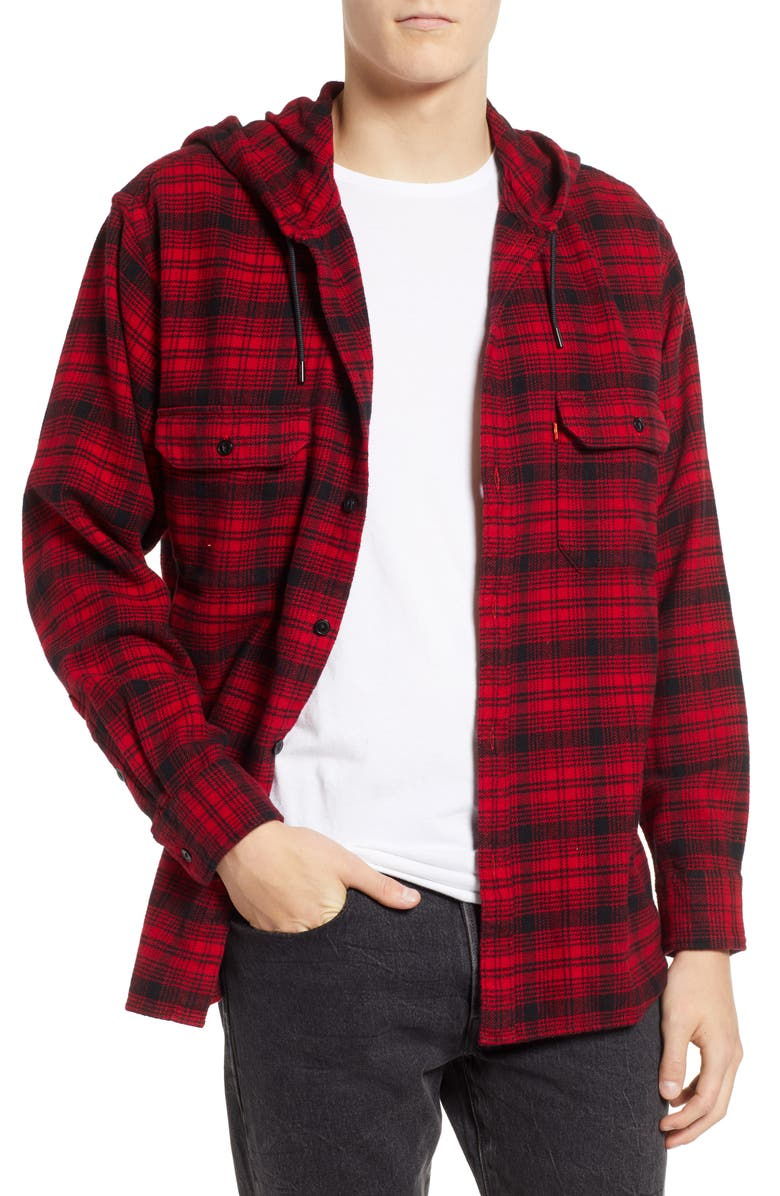 593c116b484d45 Levi s® x Justin Timberlake Hooded Flannel Worker Shirt