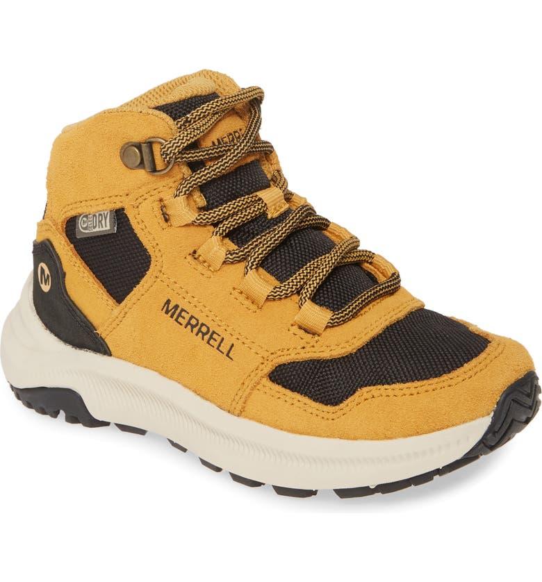 MERRELL Ontario Waterproof Boot, Main, color, WHEAT