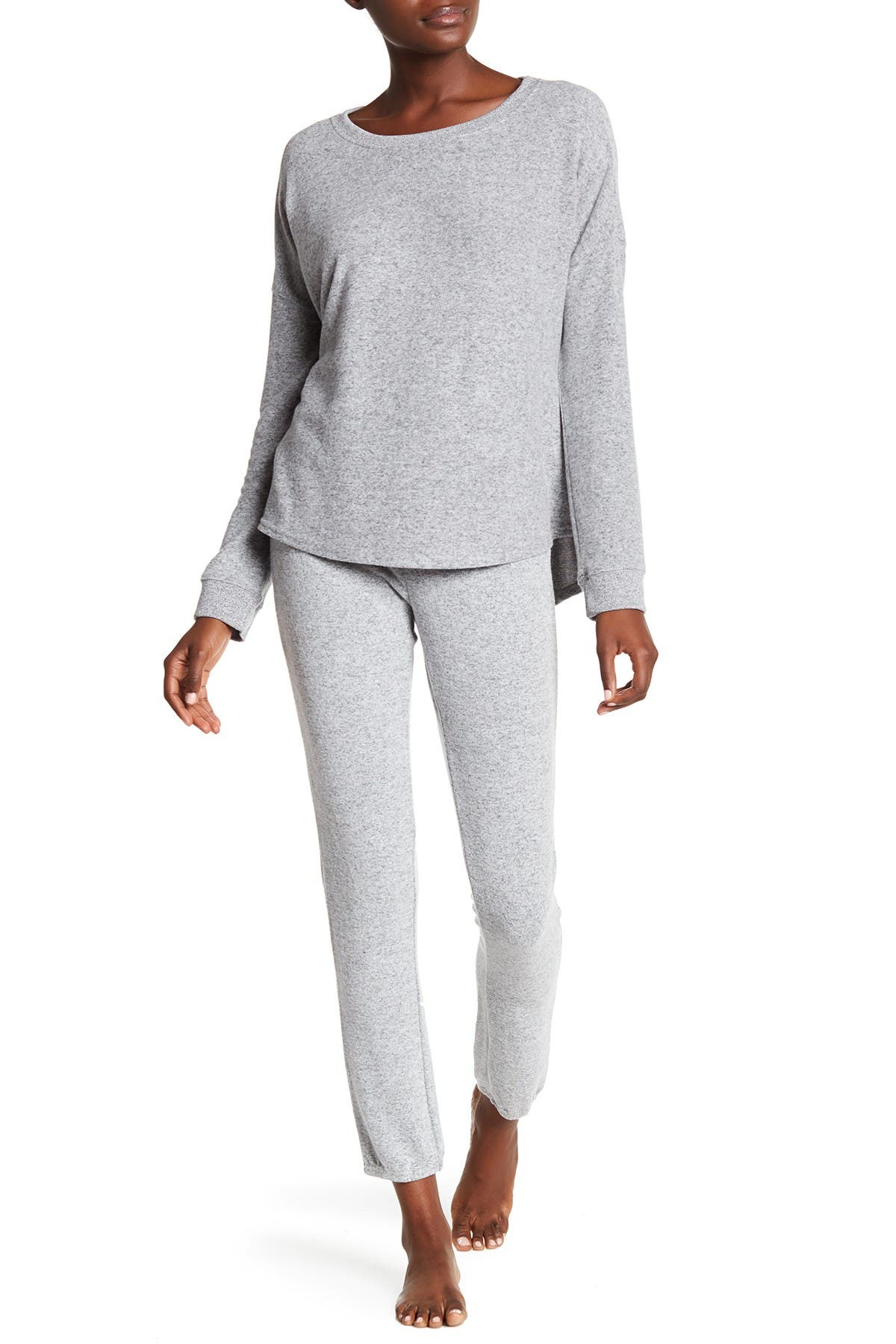 Image of Free Press Hacci Brushed Skinny Joggers