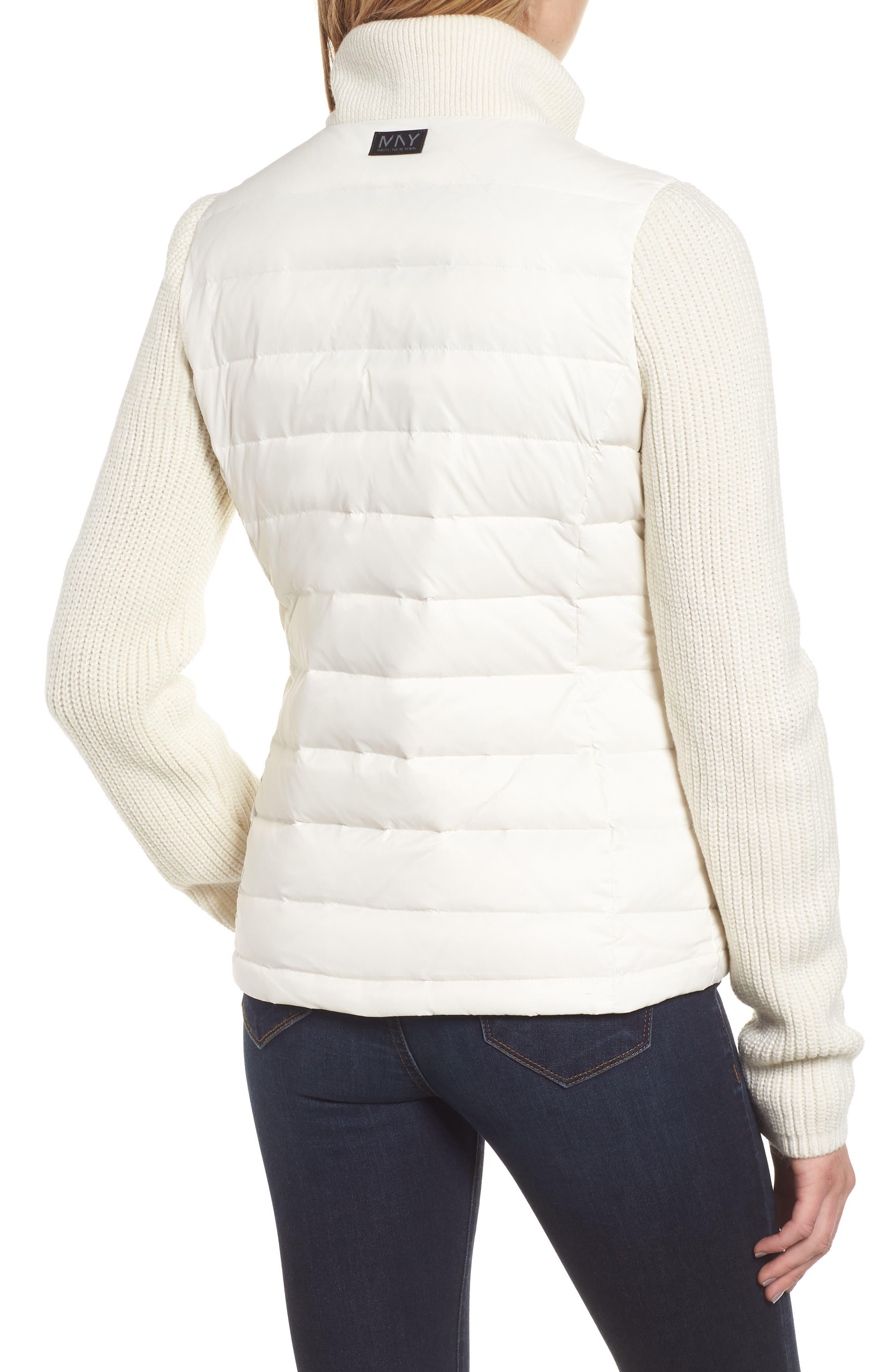 ,                             Mark New York Packable Knit Trim Puffer Jacket,                             Alternate thumbnail 15, color,                             900