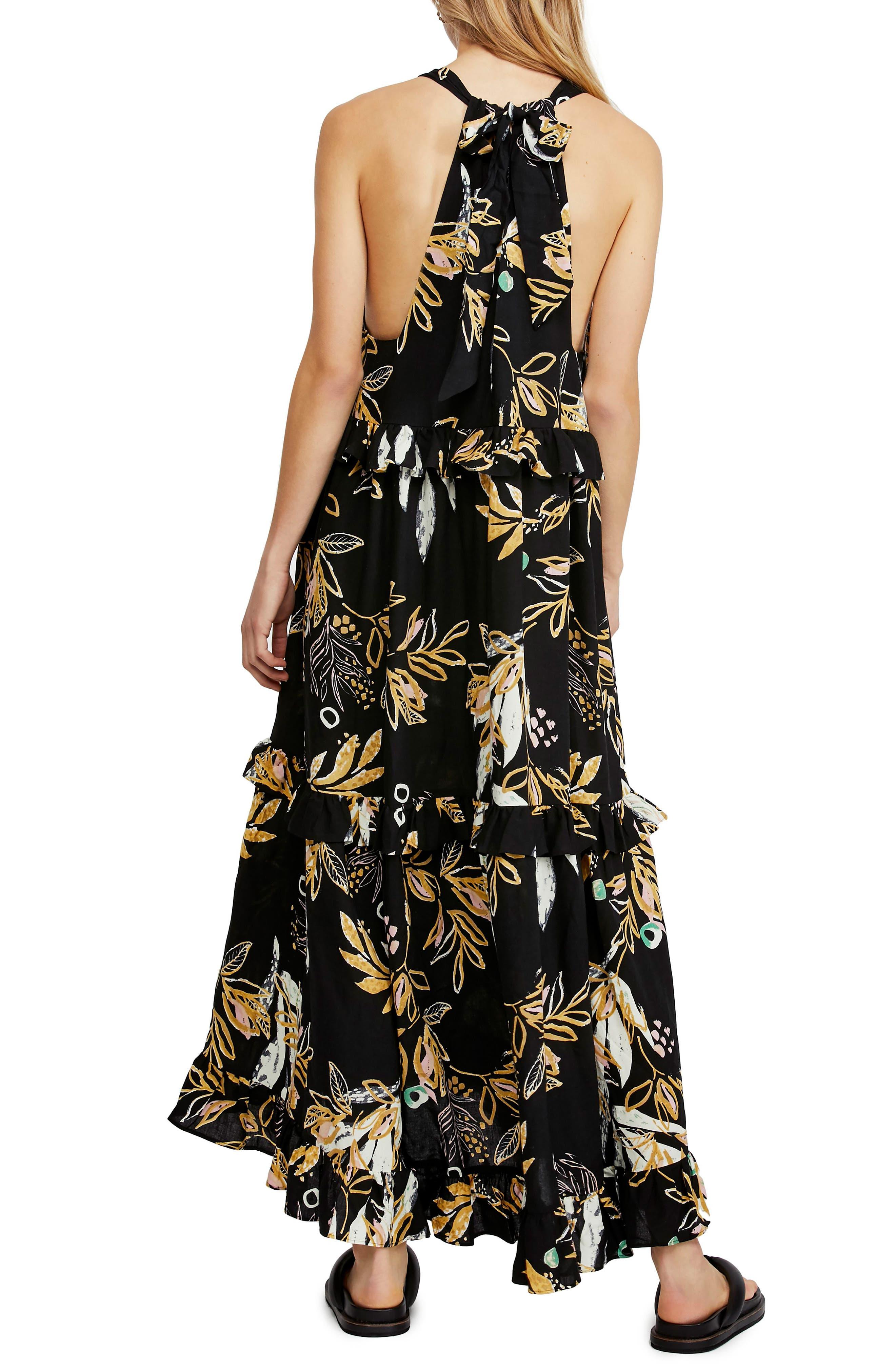 ,                             Anita High/Low Dress,                             Alternate thumbnail 2, color,                             BLACK
