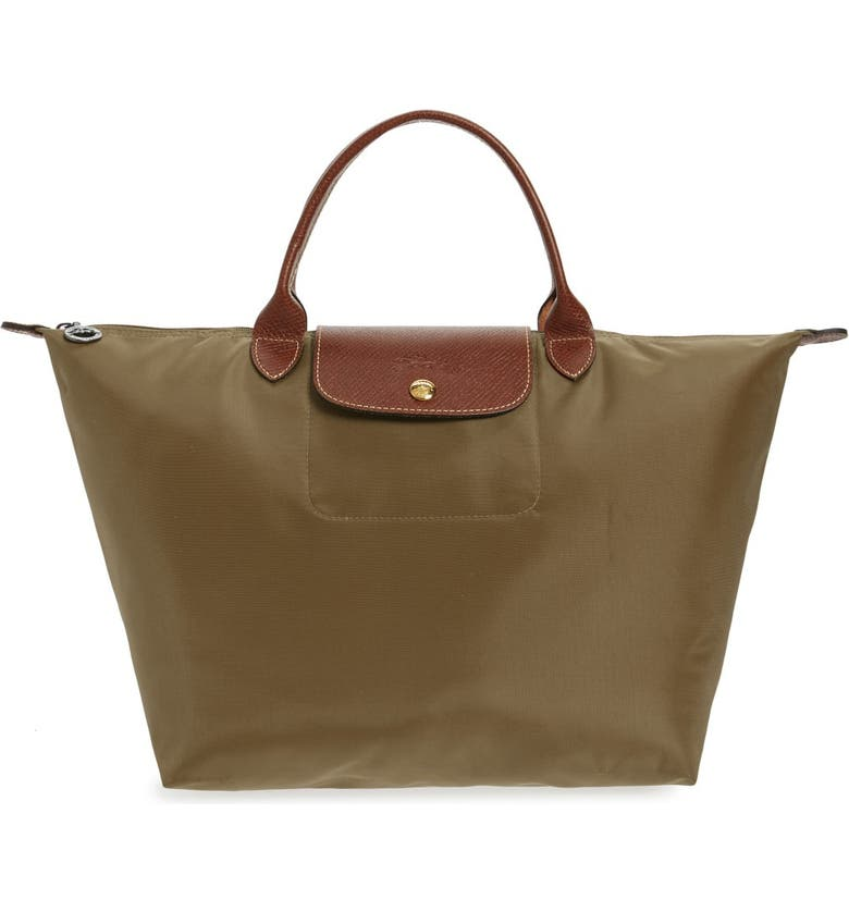 LONGCHAMP 'Medium Le Pliage' Nylon Top Handle Tote, Main, color, 200