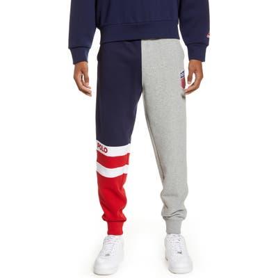 Polo Ralph Lauren Polo Shield Sweatpants, Grey