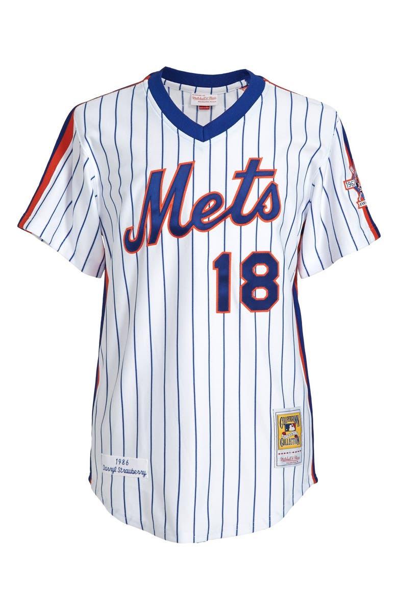 low priced e556b ca4e4 Mitchell & Ness 'New York Mets 1986 - Darryl Strawberry ...