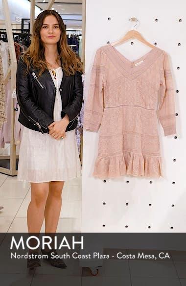 Cheri Eyelet Lace Dress, sales video thumbnail
