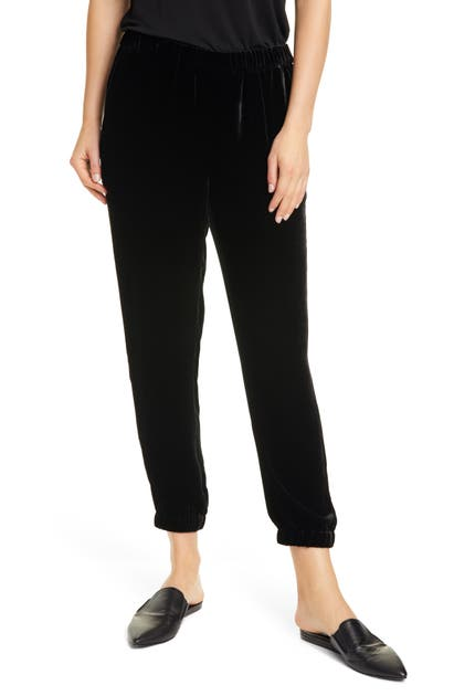 Eileen Fisher Pants SLOUCHY ANKLE VELVET PANTS