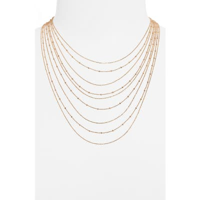 Bp. Multistrand Ball Chain Necklace