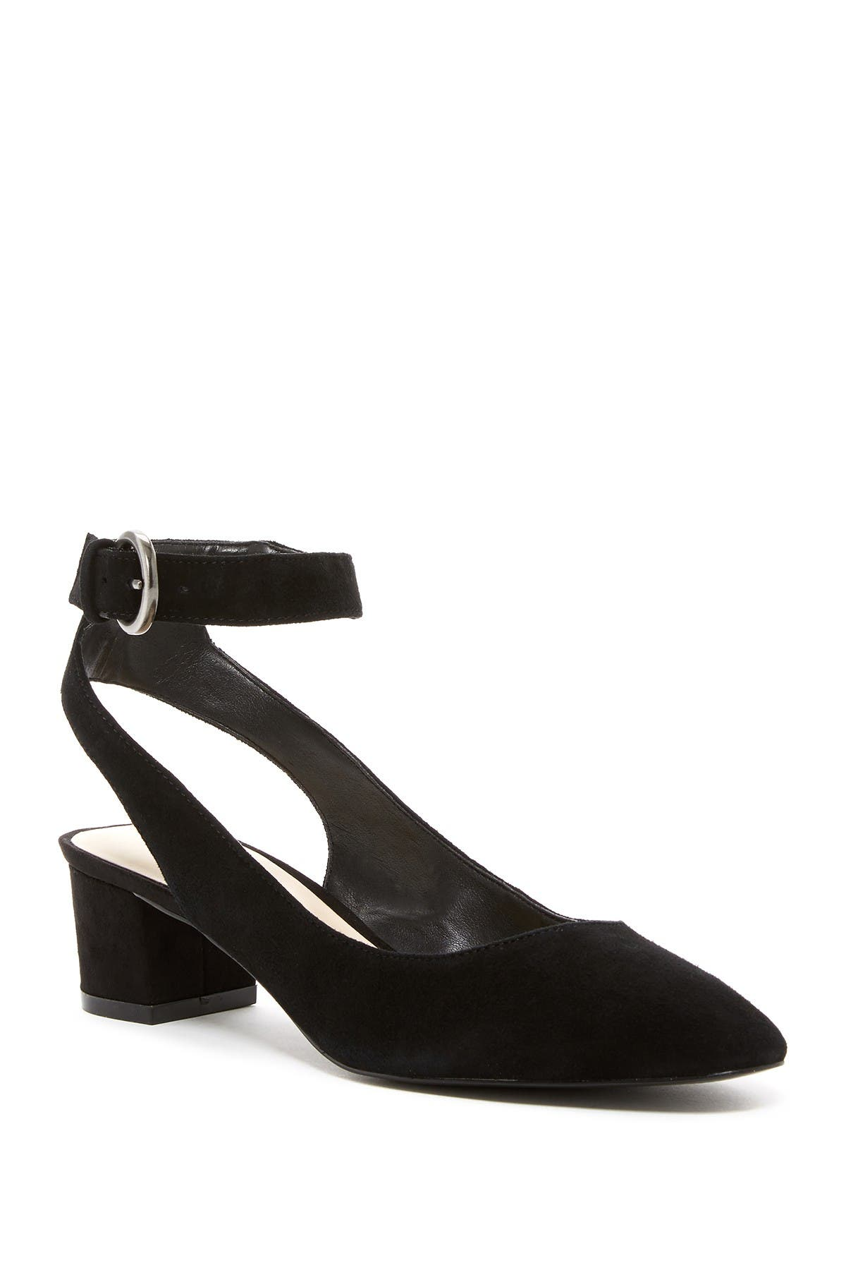 Image of Nine West Babes Suede Block Heel Dress Shoe