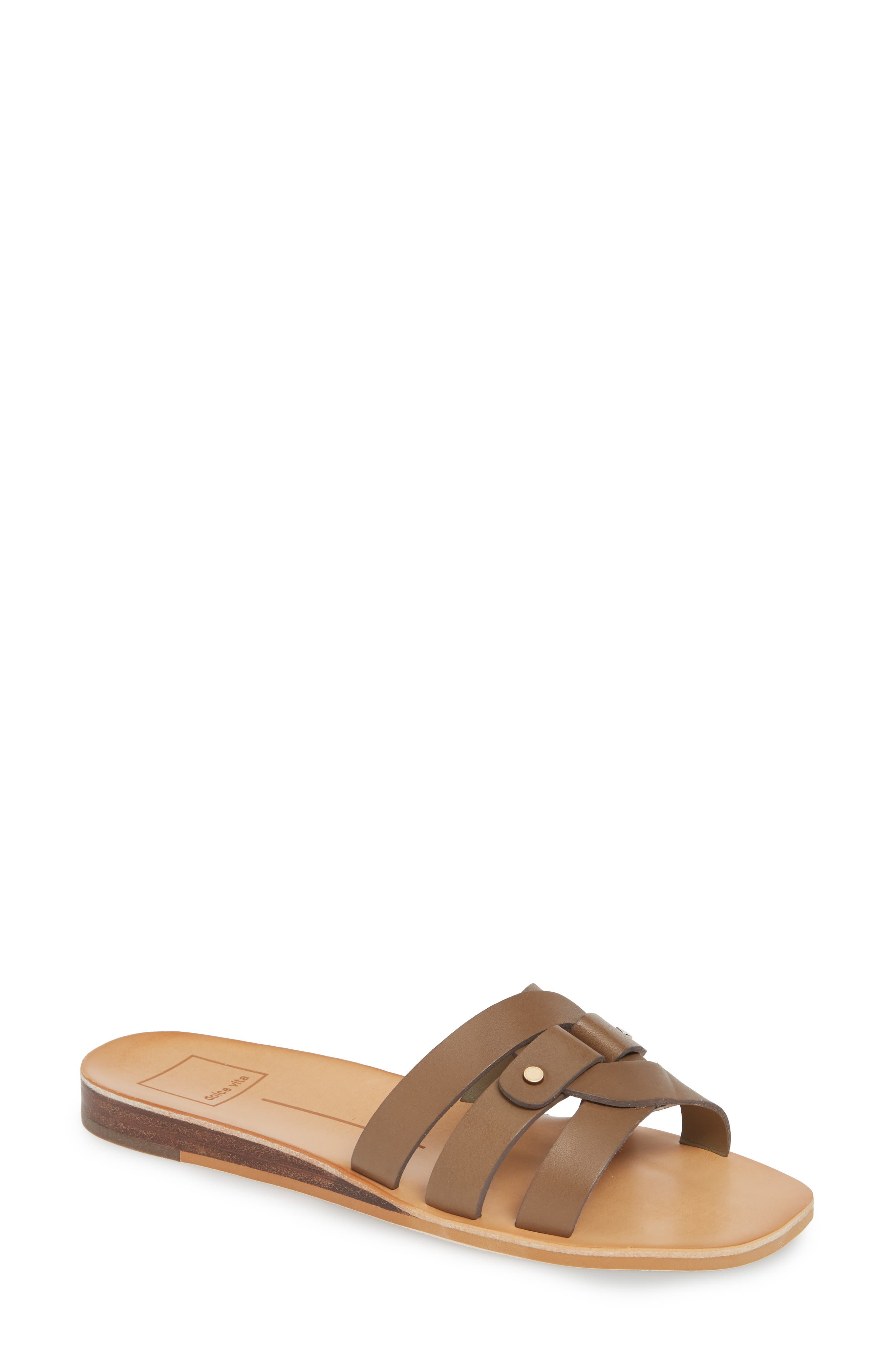 Dolce Vita Cait Slide Sandal, Green