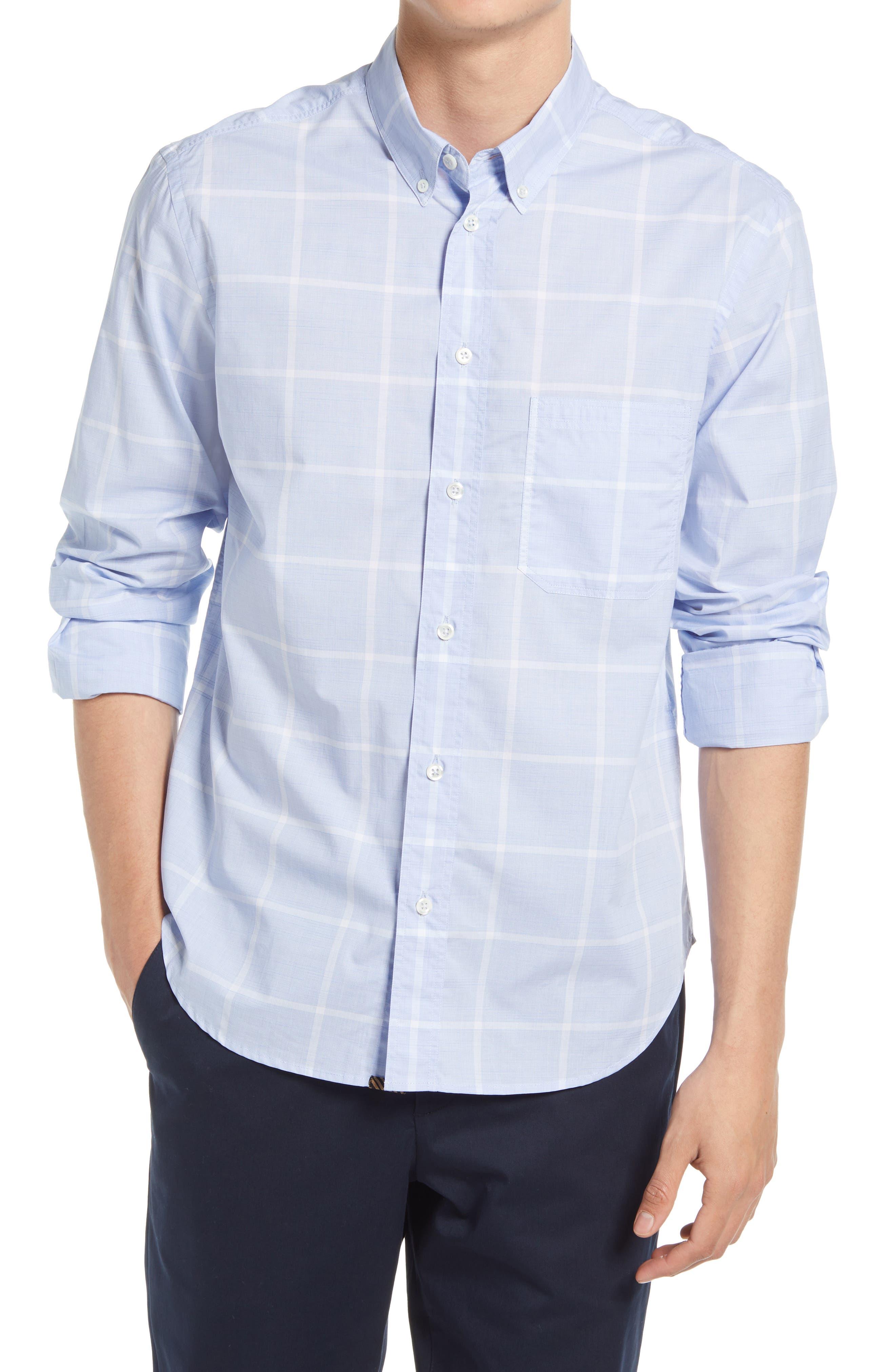 Tuscumbia Check Cotton Button-Down Shirt
