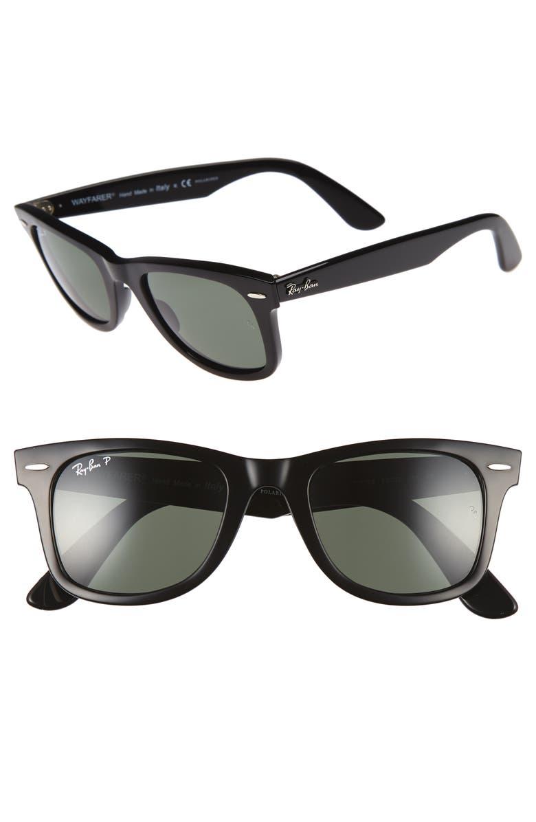 Ray Ban Classic Wayfarer 50mm Polarized Sunglasses