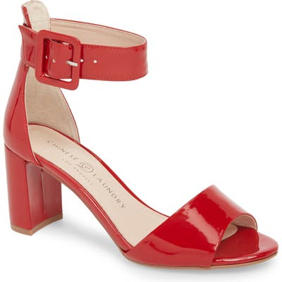 Chinese Laundry Rumor Sandal- Red