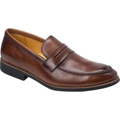 Sandro Moscoloni Mundo Penny Loafer - Brown