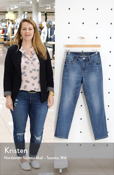 Reese Vintage High Waist Straight Leg Jeans, sales video thumbnail