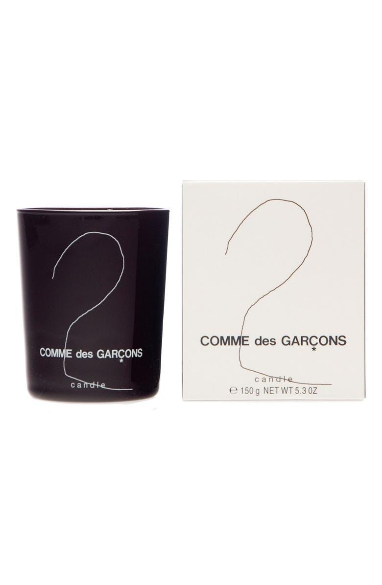 COMME DES GARÇONS '2' Candle, Main, color, BROWN