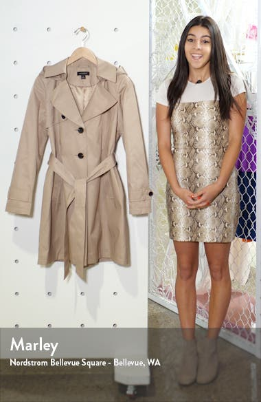 Hooded Trench Coat, sales video thumbnail