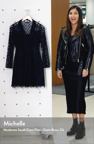 Nanie Lace Cotton Blend Minidress, sales video thumbnail