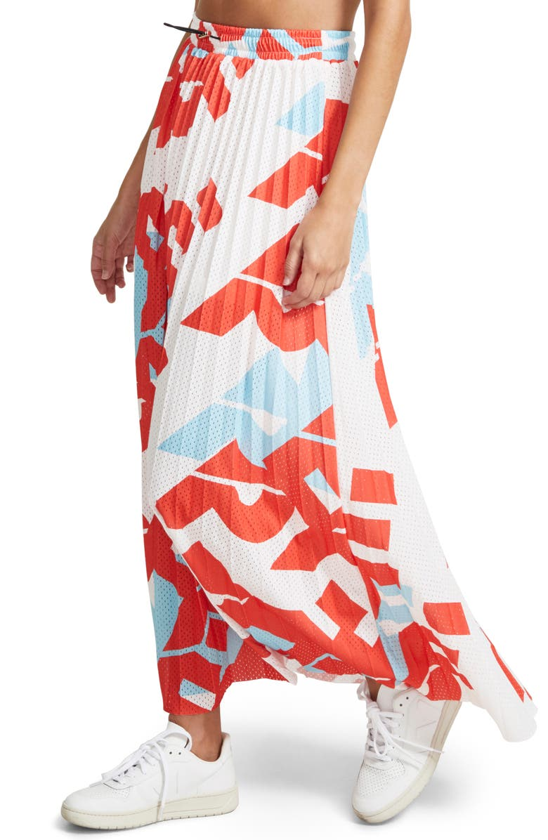 P.E NATION Short Corner Maxi Skirt, Main, color, 960