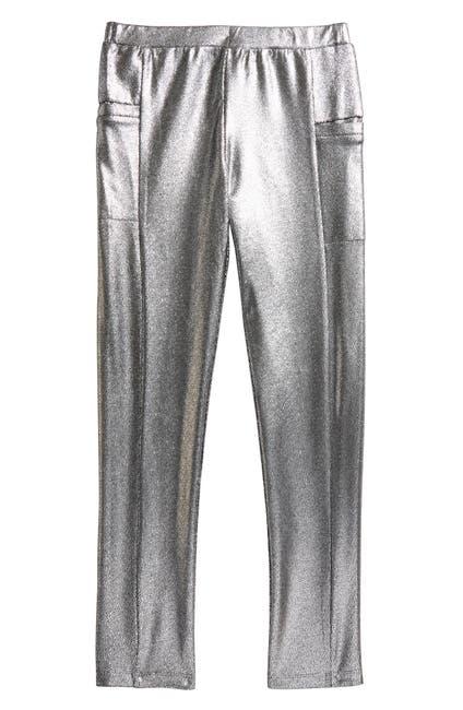 Image of Peek Kaitlyn Silver Foil Leggings