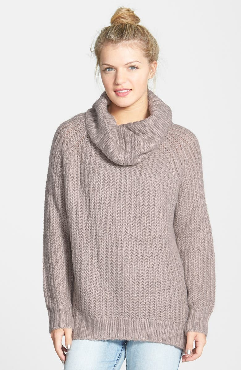 DREAMERS BY DEBUT Cowl Neck Sweater, Main, color, 020